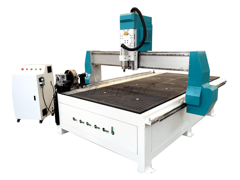 ABR-1325-4-axis-cnc-router-machine-side-3
