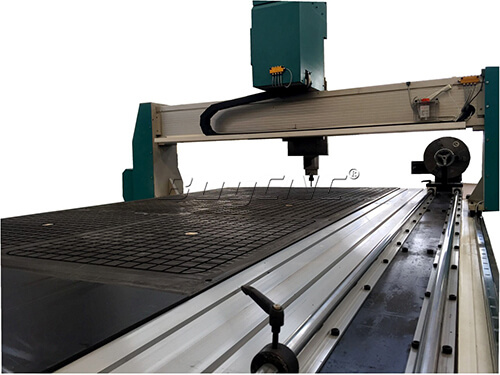 ABR-1325 4 axis cnc router rotary axis