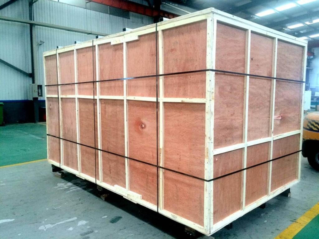ABS-1325 CNC Router plywood case packing