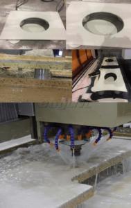 Granite Stone Polishing Machine Sample