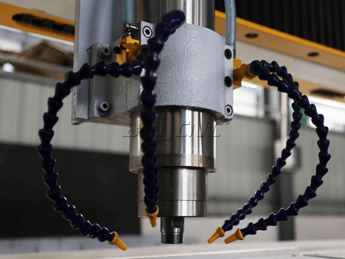 5.5kw Powerful spindle of stone cnc machine