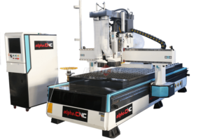 CNC Nesting Machine with Boring Head04