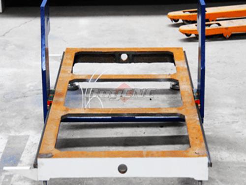 Base Frame of Desktop Engraving machine