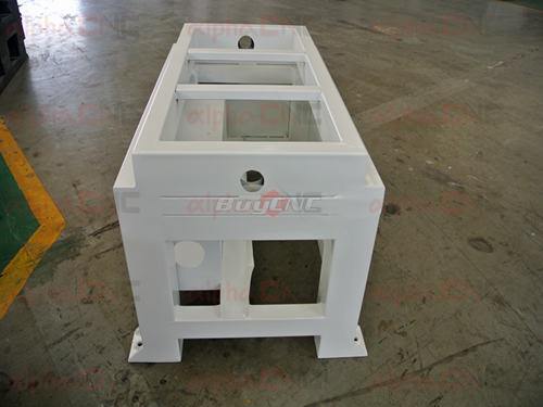 Base frame of small cnc router
