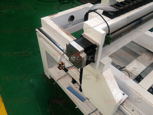 Drive Motors of 4 axis cnc mill