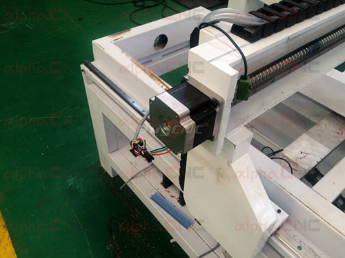 Drive Motors of small cnc mill