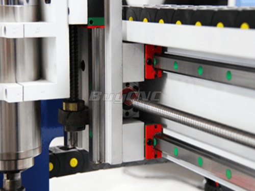 Hiwin Square Rail & High Precision TBI Ball Screw