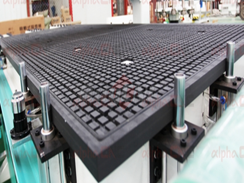 Pneumatic Material Alignment Stops