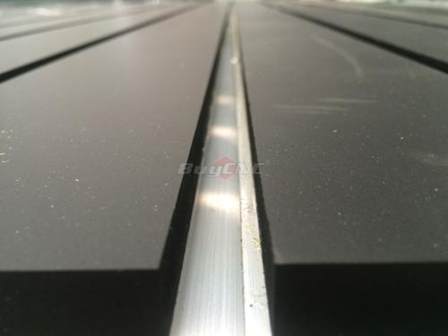 T-slot aluminum and PVC table