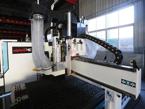 Machine gantry