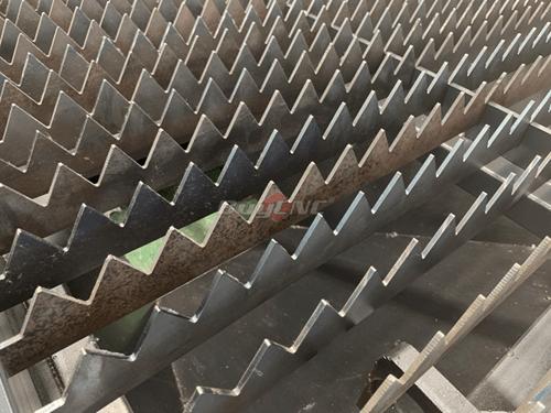 Serrate working platform
