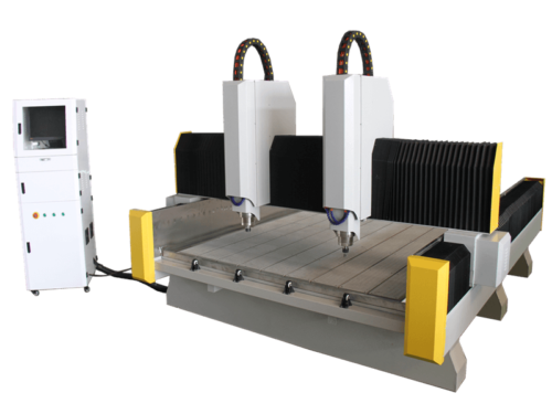2 spindle stone cnc router101