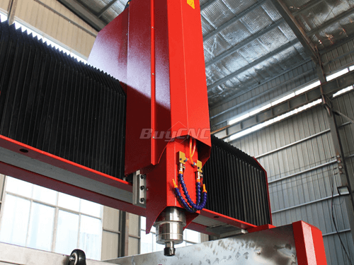 5.5kw high frequency water cooling spindle