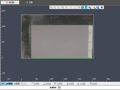 DXF digital template