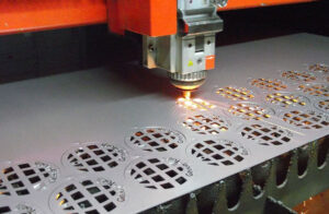 Fiber laser cutting machine processing samples
