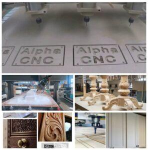 craftsman CNC wood router samples